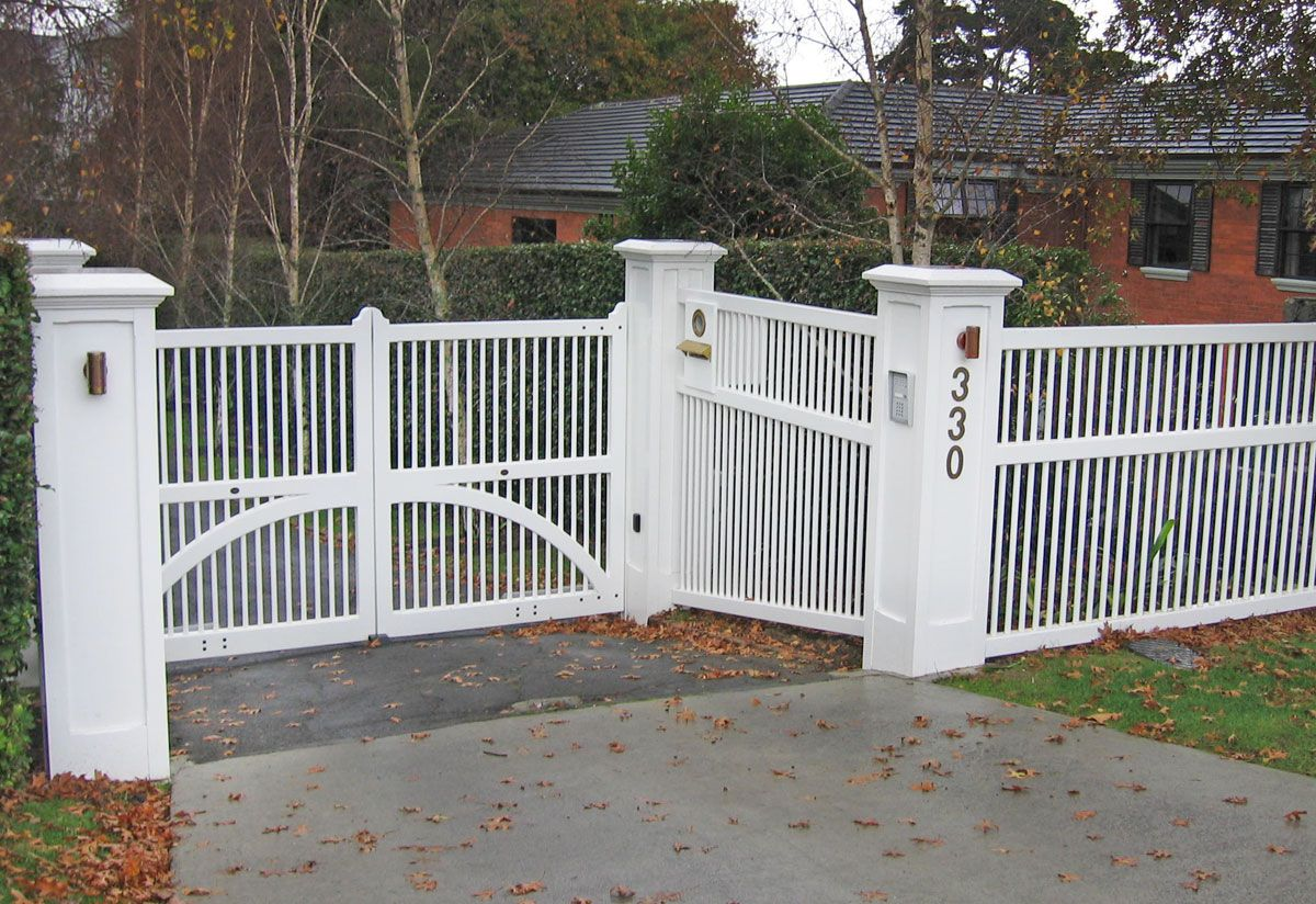Custom Fence Wooden Gates Fences Driveway Gates Wooden